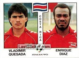 Vladimir Quesada / Enrique Diaz (Group C - Costa Rica)