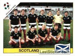 Team photo Scotland (Group C - Scotland)