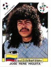 Jose Rene Higuita (Group D - Colombia)