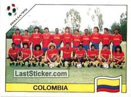 Team photo Colombia (Group D - Colombia)
