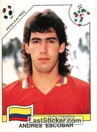 Andres Escobar (Group D - Colombia)