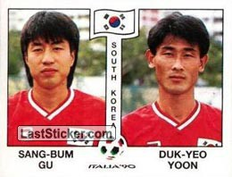 Sang-Bum Gu / Duk-Yeo Yoon (Group E - South Korea)