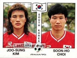 Joo-Sung Kim / Soon-Ho Choi (Group E - South Korea)