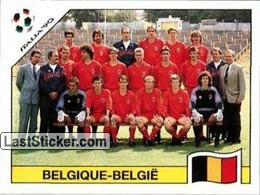 Team photo Belgique-Belgie (Group E - Belgique-Belgie)