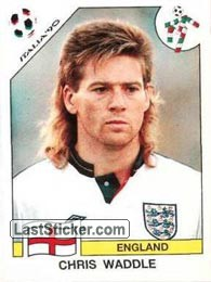 Chris Waddle (Group F - England)