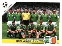 Team photo Ireland (Group F - Ireland)
