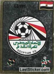Egyptian Football Association emblem (Group F - Egypt)