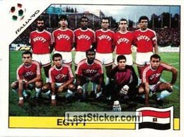 Team photo Egypt (Group F - Egypt)
