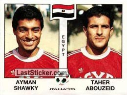 Ayman Shawky / Taher Abouzeid (Group F - Egypt)