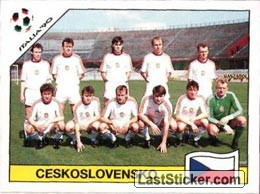 Team photo Ceskoslovensko (Group A - Ceskoslovensko)