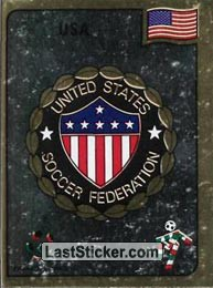 Unated States Soccer Federation emblem (Group A - USA)