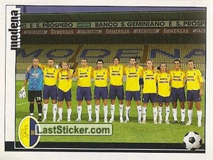 SQUADRA (Modena Football Club 1912 s.p.a.)