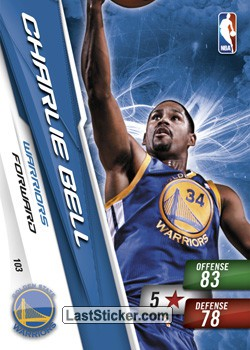 Charle Bell (Golden State Warriors)