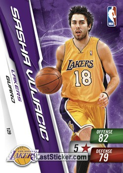 Sasha Vujacic (Los Angeles Lakers)