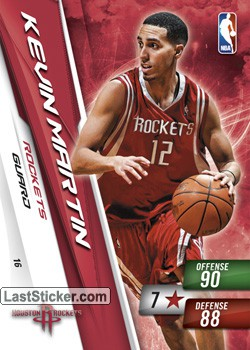 Kevin Martin (Houston Rockets)