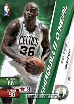 Shaquille Oneal (Boston Celtics)
