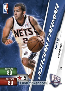Jordan Farmar (New Jersey Nets)