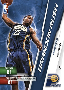 Brandon Rush (Indiana Pacers)