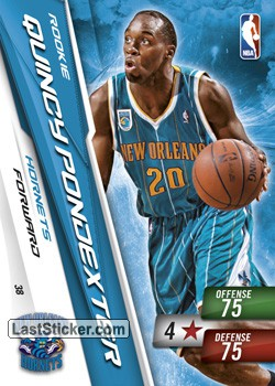 Quincy Pondexter (New Orleans Hornets)