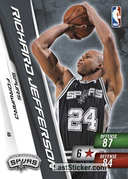 Richard Jefferson (San Antonio Spurs)