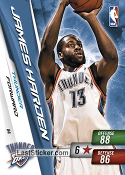 James Harden (Okclahoma City Thunder)