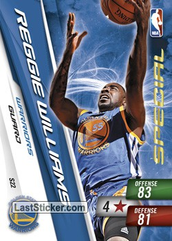 Reggie Williams (Golden State Warriors)