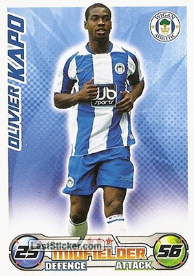 Oliver Kapo (Wigan Athletic)