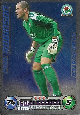 Paul Robinson (Blackburn Rovers)