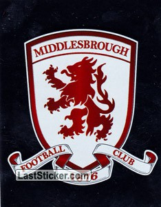 Middlesbrough Club Badge (Middlesbrough)