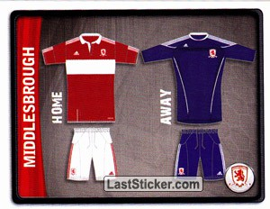 Middlesbrough Kit (Middlesbrough)