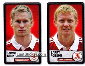 Tarmo Kink/Barry Robson (Middlesbrough)