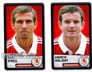 Gary O`Neil/Andrew Haliday (Middlesbrough)