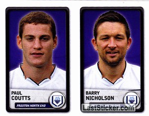 Paul Coutts/Barry Nicholson (Preston North End)