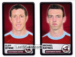 Cliff Byrne/Michael Raynes (Scunthorpe United)