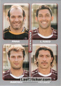 Pinna/Fusco/Marchese/Peccarisi (Salernitana)