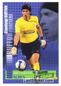 Portiere: Gianluigi Buffon (Top team Panini)