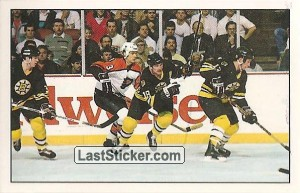 Action moment (Boston Bruins)