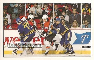 Action moment (Buffalo Sabres)