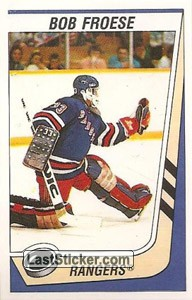 Bob Froese (New York Rangers)