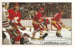 Action moment (Calgary Flames)