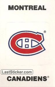 Montreal Canadiens Emblem (NHL Map)