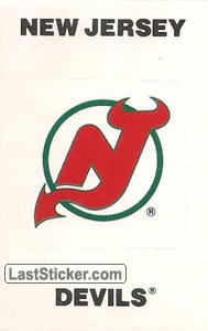 New Jersey Devils Emblem (NHL Map)