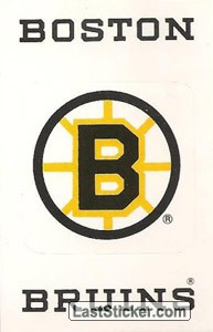 Boston Bruins Emblem (NHL Map)