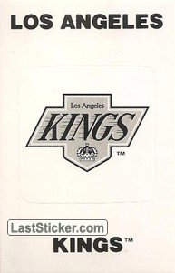 Los Angeles Kings Emblem (NHL Map)