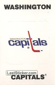 Washington Capitals Emblem (NHL Map)