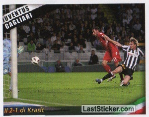 Il 2-1 di Krasic (Gallery 2010-2011)