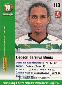 Liedson (Sporting) - Back