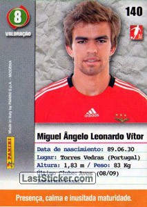 Miguel Vitor (Benfica) - Back