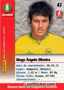 Diego Angelo (Naval) - Back