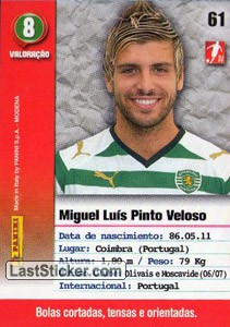 Miguel Veloso (Sporting) - Back